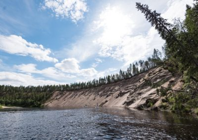 SUP 24hetki Oulangan kansallispuistossa