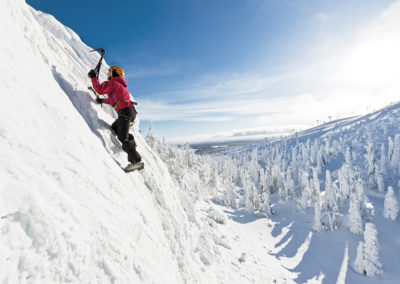 Ice climbing in Ruka Ski resort (4 hours)